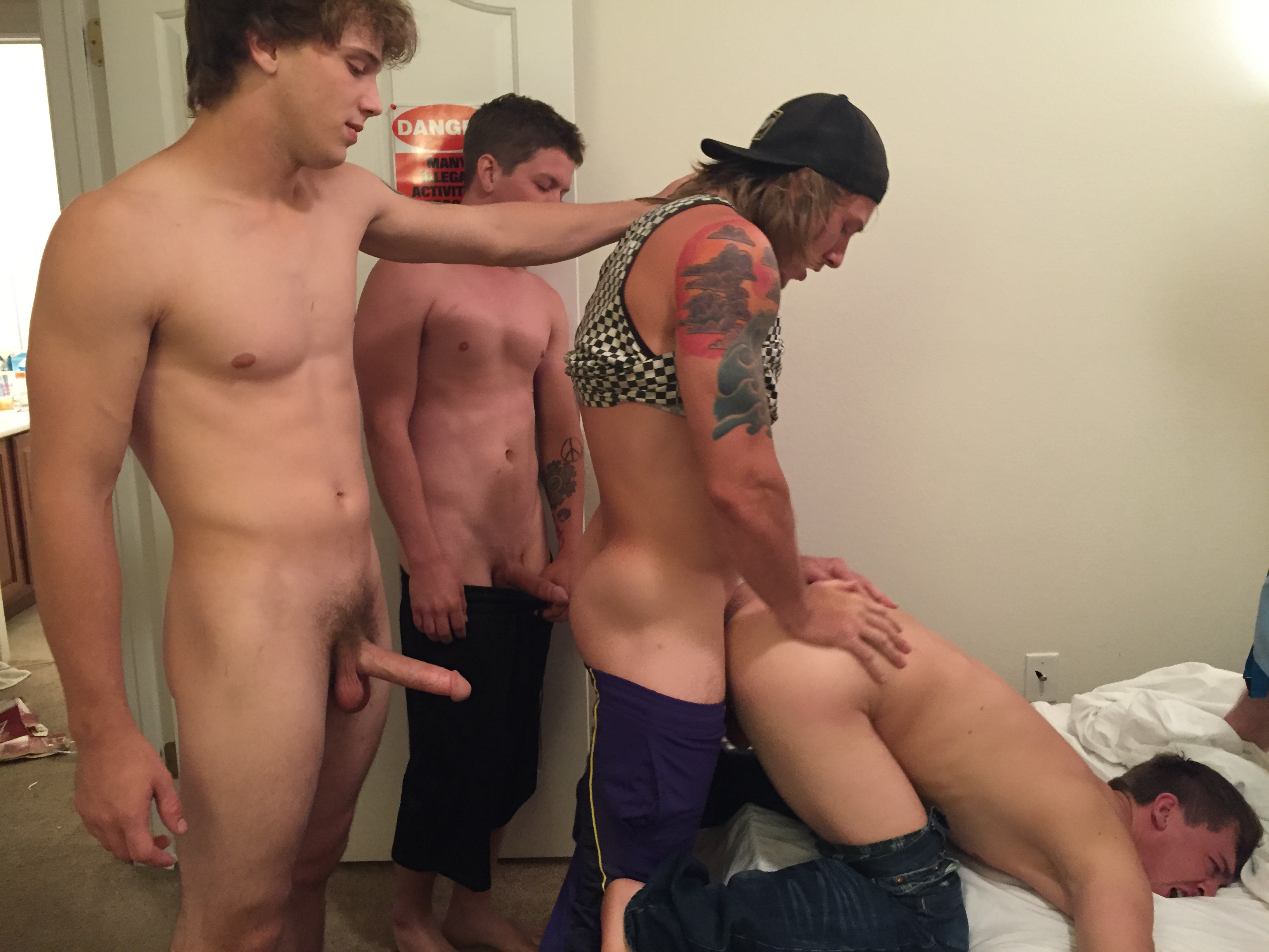 from Kamren free gay frat